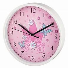 Hama Kinder Wanduhr Ohne Ticken Krone Analoge Uhr