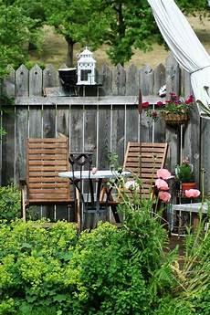Gartenbuddelei Sichtschutz Garten Sichtschutzwand
