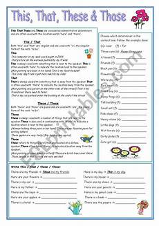 grammar worksheets this that these those 24996 this that these those esl worksheet by nikabike