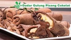 Resep Dadar Gulung Pisang Cokelat Crepe Banana Choco