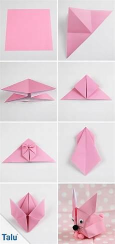 origami hase falten faltanleitung f 252 r einen papierhase