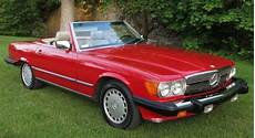 buy car manuals 1988 mercedes benz sl class engine control mercedes benz sl class convertible 1988 signal red 568 for sale wdbba48d8ja077066 1988