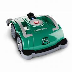 l60 deluxe 10 in battery powered electric robot lawn