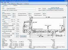 lkw arten und abmessungen mobile soft software f 252 r den fahrzeugbau software axle load 2 0 achslastberechnung f 252 r 2