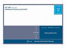 post card template 9 x 6 mailing regulations for brochures postcards