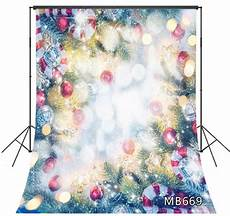 5x7ft Vinyl Merry Happy Year by 2020 Happy New Year Fir Baubles Backdrop 5x7ft
