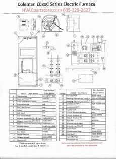 Eb10c Coleman Electric Furnace Parts Hvacpartstore