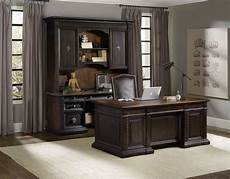 executive home office furniture treviso home office executive desk by hooker furniture