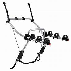 thule clipon th9103 rear car bike rack 3 bikes decathlon