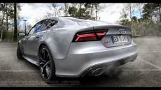 acceleration audi rs7 2016 performance 605 hp sound