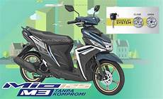 Warna Pelek Motor Keren by 2 Pilihan Warna Baru Yamaha Mio M3 125 2018 Pelek Emas