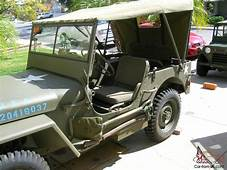 1942 Jeep Willys Slat Grill