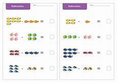 subtraction worksheets early years 10063 early learning resources the sea subtraction worksheets