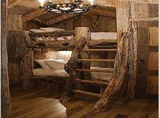 Discount Log Bunk Beds Log Cabin Bunk Beds, 3 bed log