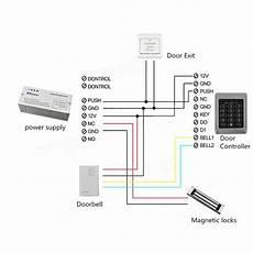 rfid security reader entry door lock keypad access control system 10 pcs sale banggood com