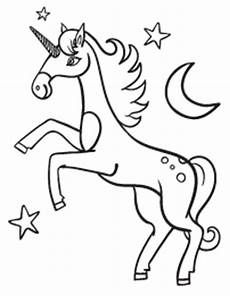 Unicorn Malvorlagen Kostenlos Vollversion Free Coloring Pages