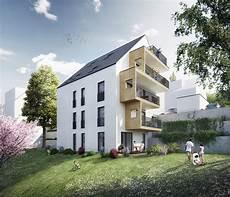 Eleganz Am Hang Neubau Eines Mehrfamilienhauses In