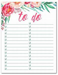 free printable watercolor to do list cabin