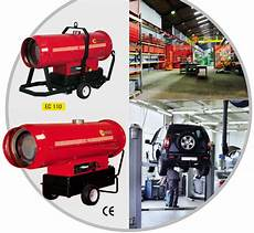 Chauffage Mobile Air Chaud Fuel Avec Chemin 233 E Canon