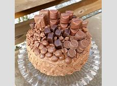 Chocolate Overload Layer Cake with Nutella Cream Cheese