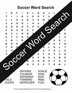 sports related worksheets 15870 soccer word search free printable soccer crafts printable activities for free printable
