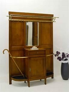 garderobe mit spiegel garderobe wandgarderobe antik um 1920 eiche mit spiegel