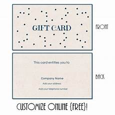 downloadable gift card templates free printable gift card templates that can be customized