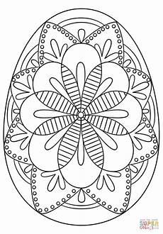 Osterei Malvorlage Kostenlos Coloring Ukrainian Easter Eggs Keyid Free Printable