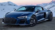 first new 2019 20 audi r8 v10 performance with aftermarket wheels 620hp climbing the amazing