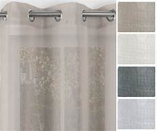 gardinen mit ösen linen 1 gardine mit 214 sen 140x245 cm 214 senschal