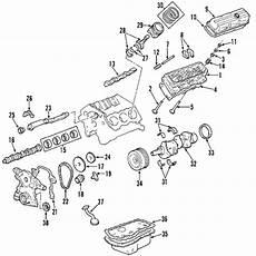 2003 impala 3 8 engine diagram parts 174 chevrolet engine cylinder valves push rods 3 8l partnumber 24504406