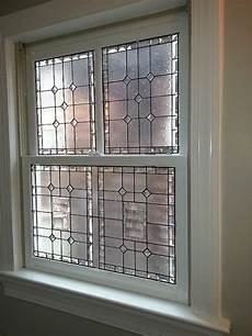 W 49 Privacy Stained Glass Window Bathroom