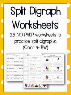 split digraph worksheets literacy english phonics 25