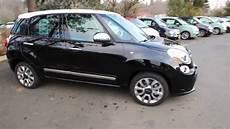 Fiat 500l Lounge - 2014 fiat 500 l lounge black ez013735 redmond