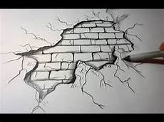 How To Draw A Brick Wall Background On Paper Youtube
