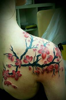 the 50 best cherry blossom tattoos ever inked tattooblend