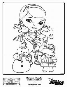 Disney Junior Malvorlagen Disney Jr Malvorlagen Doc Mcstuffins Free Printable