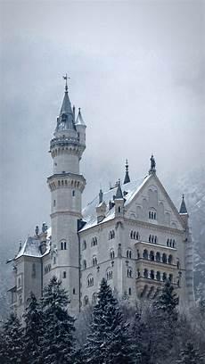 winter germany iphone wallpaper neuschwanstein castle winter bavaria germany iphone 5