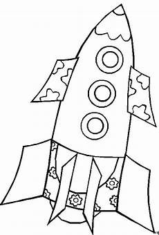 Gratis Malvorlagen Raketen Rakete Mit Blumen Ausmalbild Malvorlage Comics