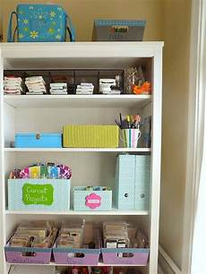 diy craft room organizing organized 31