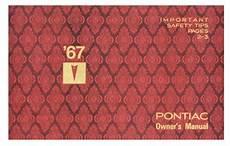 automotive service manuals 1967 pontiac bonneville parental controls pontiac owner s manuals opgi com