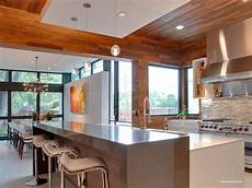 warm contemporary warm modern kitchen and dining area 1600x1200 roomporn