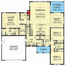 plan 89930ah 3 bedroom craftsman ranch craftsman ranch plan 790030glv inviting 3 bedroom open concept craftsman