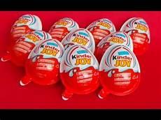 10 Magic Kinder Eggs Amazing Collection