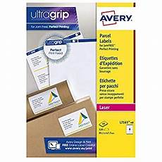 avery l7165 self adhesive parcel shipping labels laser