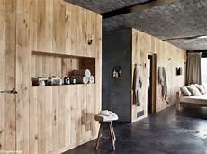 brute de décoffrage tendance le bois habille nos murs d 233 coration