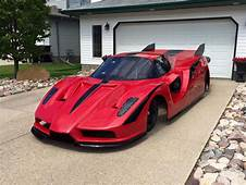 Ferrari Enzo Inspired Jet Car Front Three Quarters View