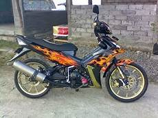 Supra Supermoto modifikasi jupiter mx jadi supermoto thecitycyclist