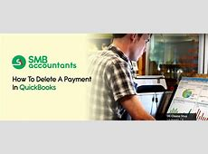 how to delete a payment in quickbooks