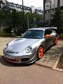 With Orange Wheels Porsche 911 GT3 RS 40 The